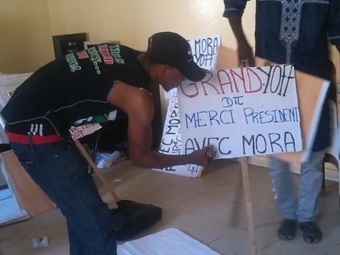 Inauguration du Pont de l'émergence : L'Apr Grand Yoff tendance Mora Cissé promet un accueil chaleureux à Macky Sall