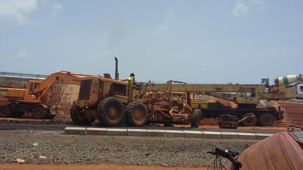 Pont de l'Emergence : Ce prématuré que Macky Sall a inauguré ce samedi (images)
