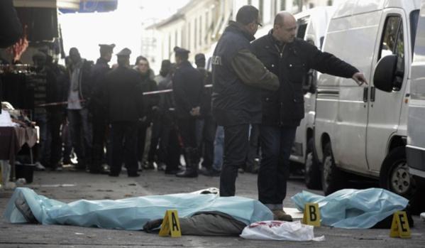 Sale temps pour les Sénégalais d'Italie : Un compatriote tué, un autre échappe à une tentative d'assassinat