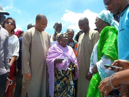 Appui de l'Etat : Plus de 7 millions et des vivres pour les sinistrés de la langue de Barbarie