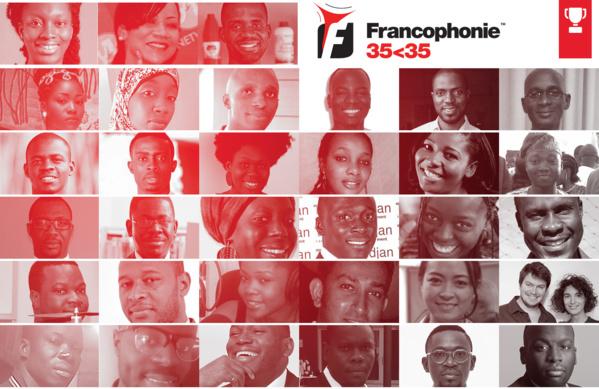 1ère édition des Prix Jeunesse de la Francophonie 35<35 : Les 35 jeunes innovateurs qui font bouger l'espace francophone en 2016