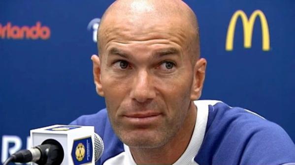 Conférence de presse après le match amical Real-Psg : Zidane se livre