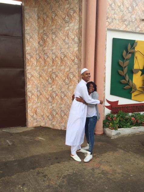 Moïse Rampino est libre (images)