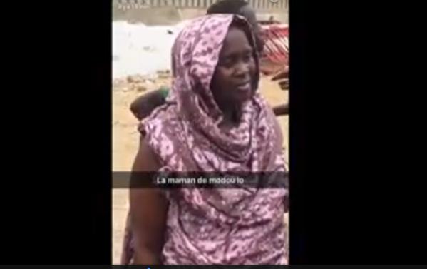 Vidéo : Après la victoire de son fils, la mère de Modou Lô se montre plus que …