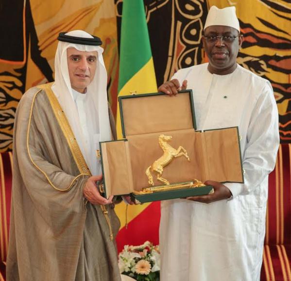 Macky Sall a bel et bien reçu le ministre des Affaires étrangères Saoudien... Voici la version officielle !