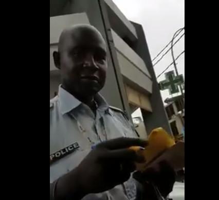 Le fameux policier corrompu, Assane Diallo finalement placé sous mandat de dépôt...Une des filles Nd. S. G, arrêtée, bénéficie d'une mise en liberté provisoire
