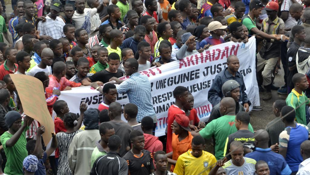 Guinée: l'opposition mobilise ses partisans dans les rues de Conakry