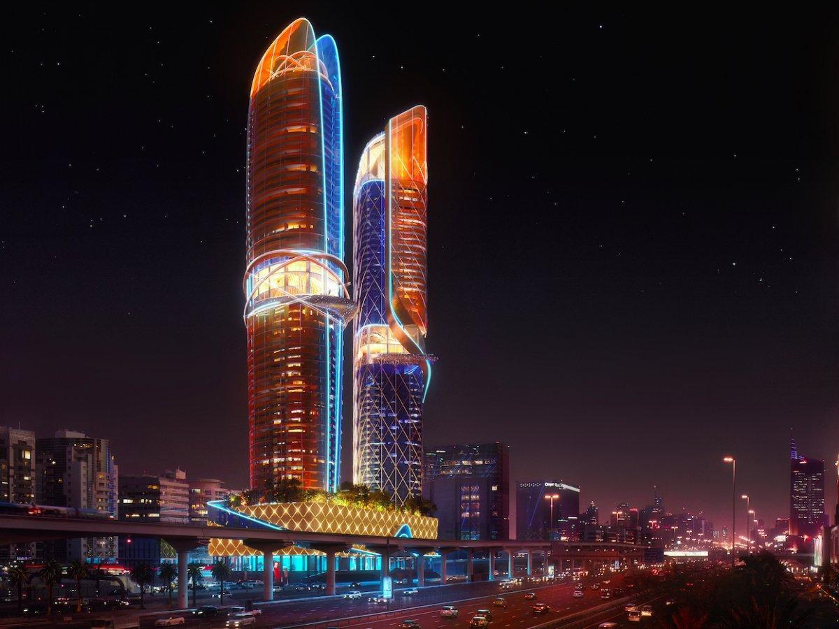 Dubaï est en train de construire le premier hôtel avec une forêt tropicale intégrée : regardez à quoi ça ressemble