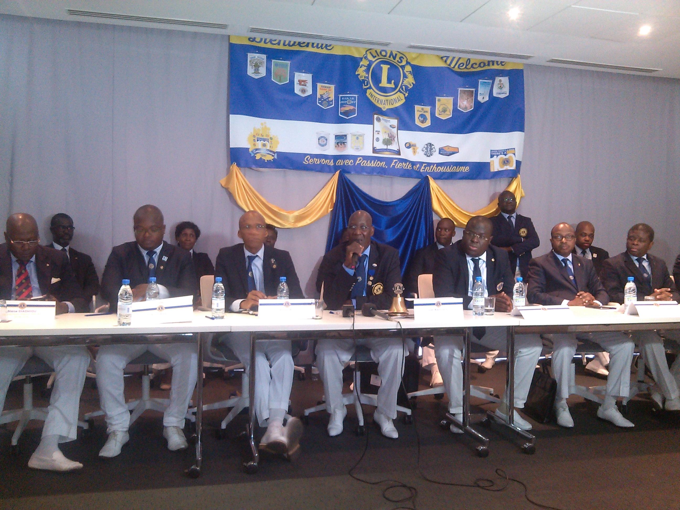 Visite du gouverneur du Lions club : Le Sénégal à l'honneur