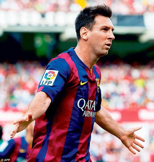 Newell's Old Boys espère recruter Messi en 2018