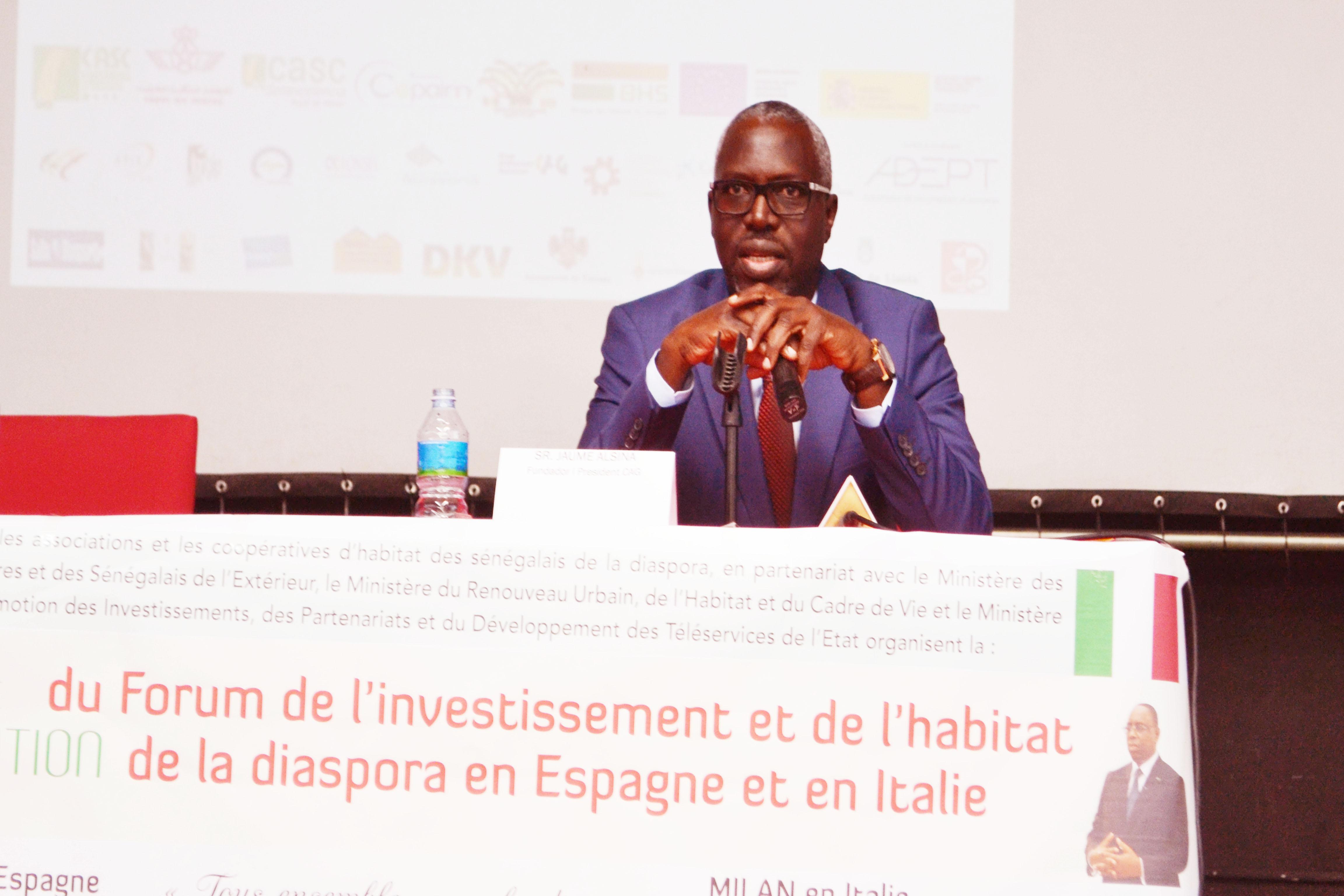 Litiges fonciers des émigrés : Mr Dame Fall , Directeur régional des impôts et des domaines de Dakar, leur demande de se rapprocher des services de l'Etat