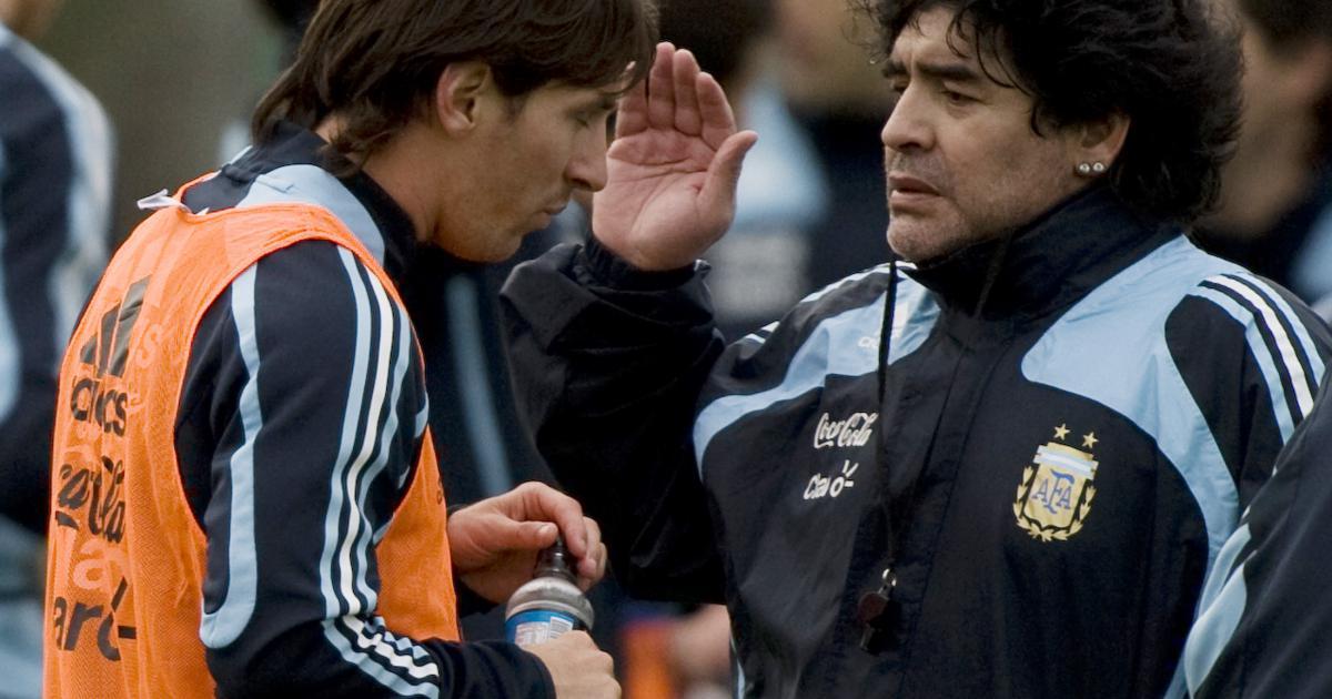 """Maradona : """"J'espère au moins que Messi se rend compte qu'il a fait souffrir les Argentins"""""""