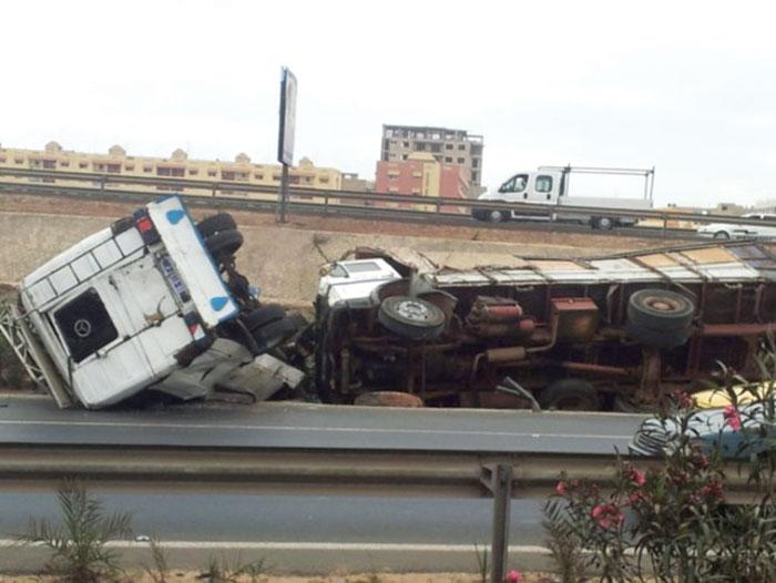 Drame à Thiaroye : Un camion dérape, tue une femme et blesse 3 personnes