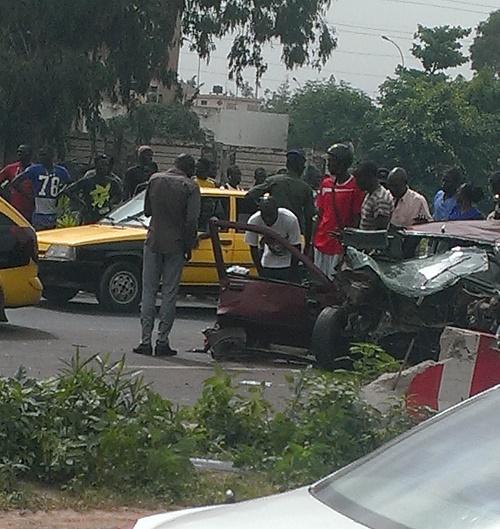 Un accident sur l'autoroute, au moins 4 blessés graves