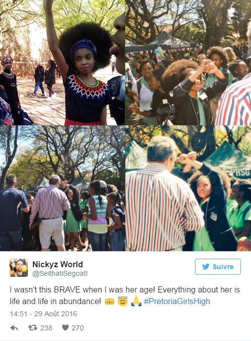 En Afrique du Sud, le lycée devra autoriser les coupes afro