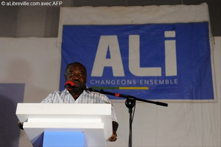 """Ali Bongo aux opposants : """"la démocratie s'accommode mal de la prise d'assaut d'un parlement"""""""