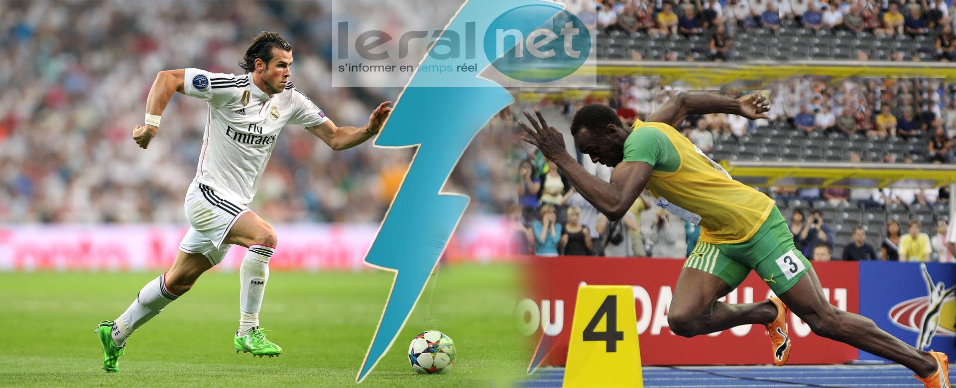 Gareth Bale: Serait-il aussi rapide qu'Usain Bolt ?