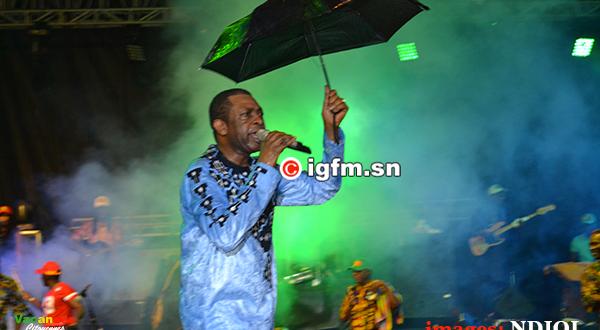 Concert de Youssou Ndour à Diourbel : Même la pluie « n'arrête pas » le roi du Mbalax (Photos + Vidéo)