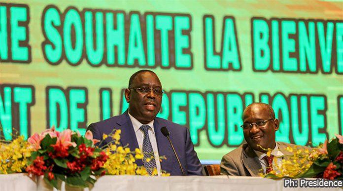 """Macky Sall : """"La Chine pourrait devenir le premier partenaire commercial du Sénégal"""""""