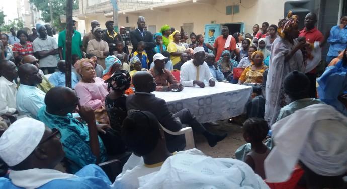 """Khalifa Sall aux conseillers municipaux de Grand Dakar : """"Il faut prier pour Jean Baptiste Diouf, c'est quelqu'un de digne, mais..."""""""