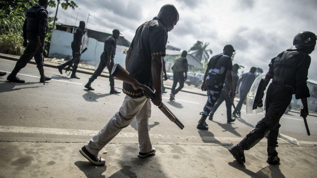Gabon : retour à un calme précaire, plus d'un millier d'interpellations