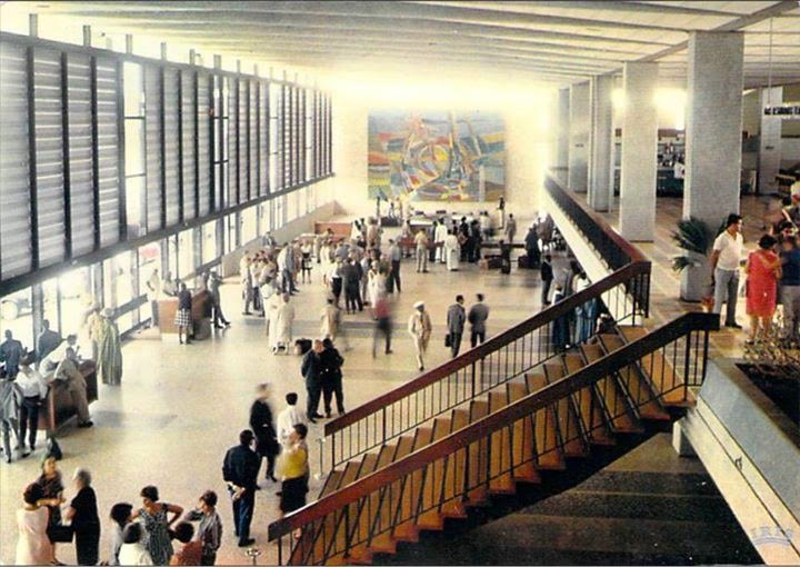 PHOTO SOUVENIR: Le hall de l'aéroport de Yoff