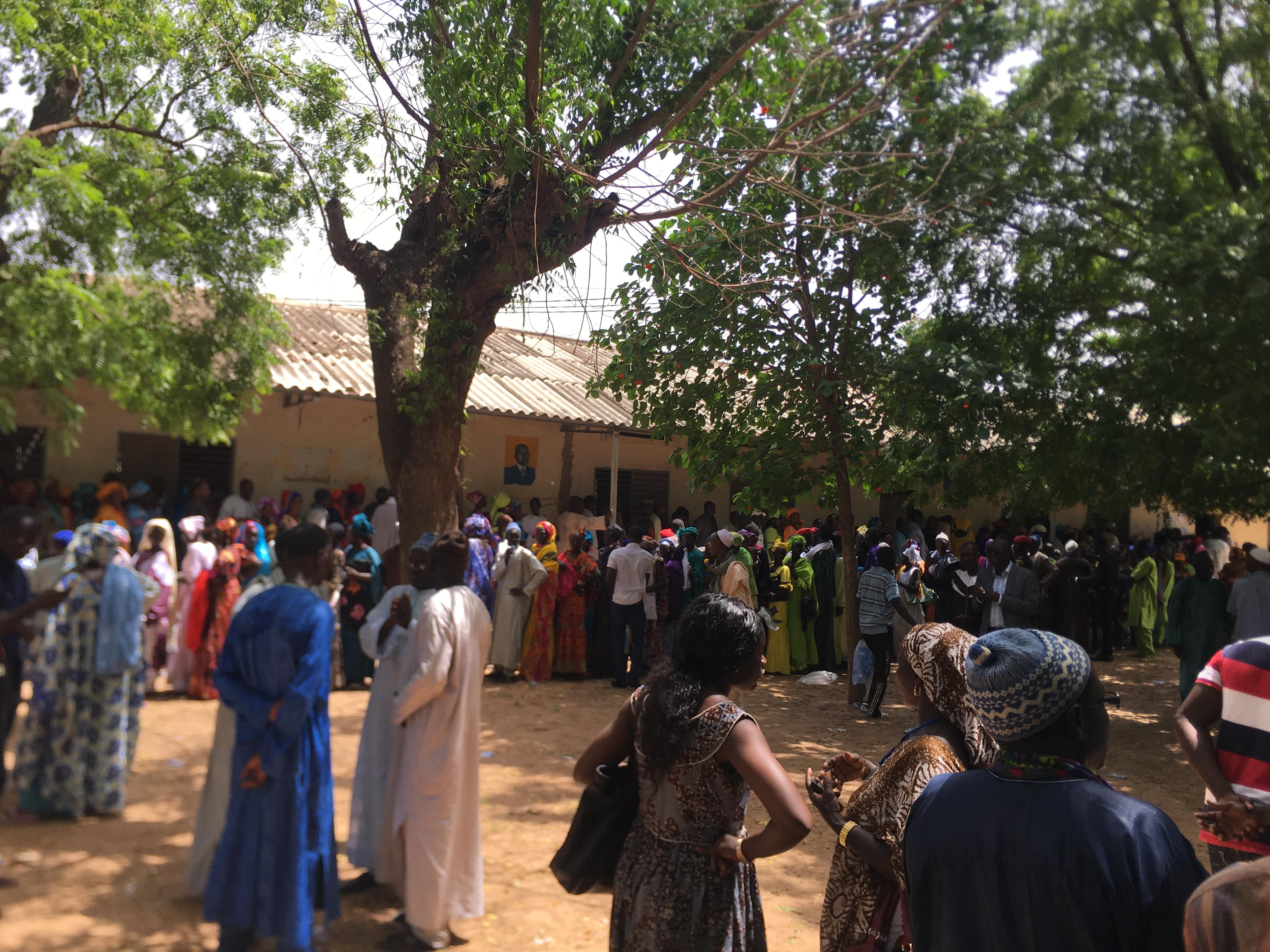 Election des membres du Hcct: Grande affluence à 11 h au centre Moussa Barry de Ziguinchor