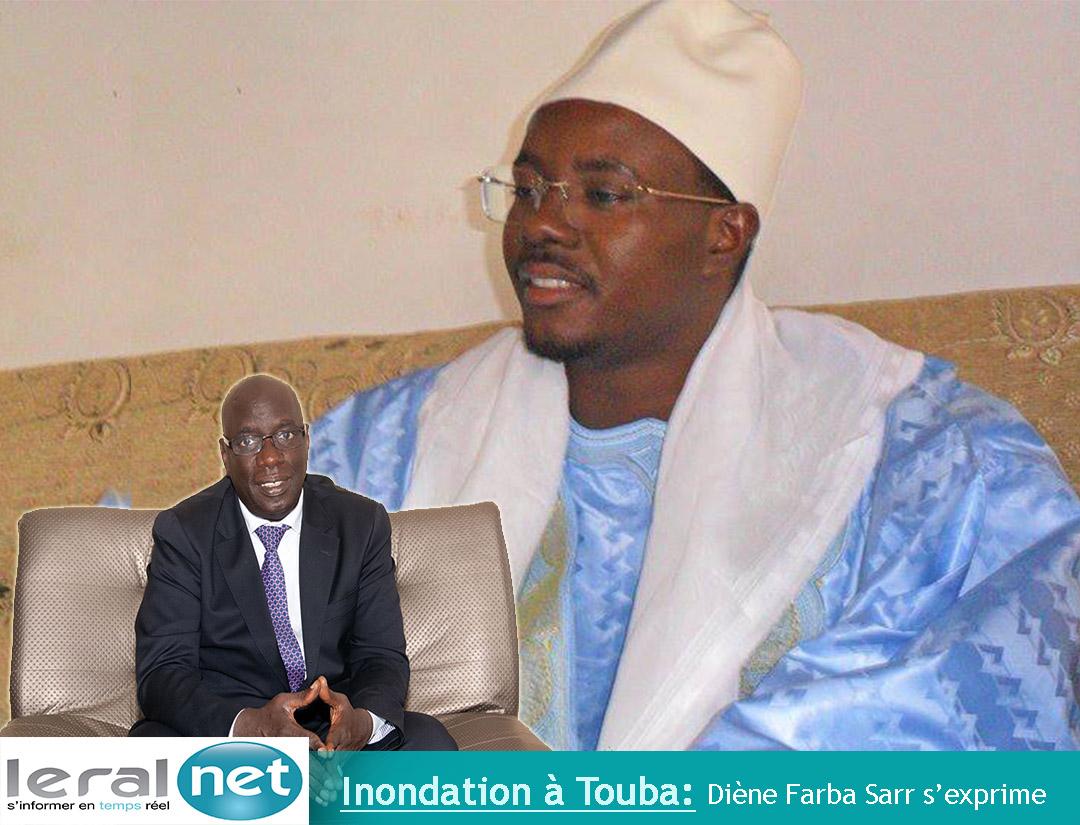 Video: Le ministre Diène Farba Sarr s'exprime sur les inondations à Touba