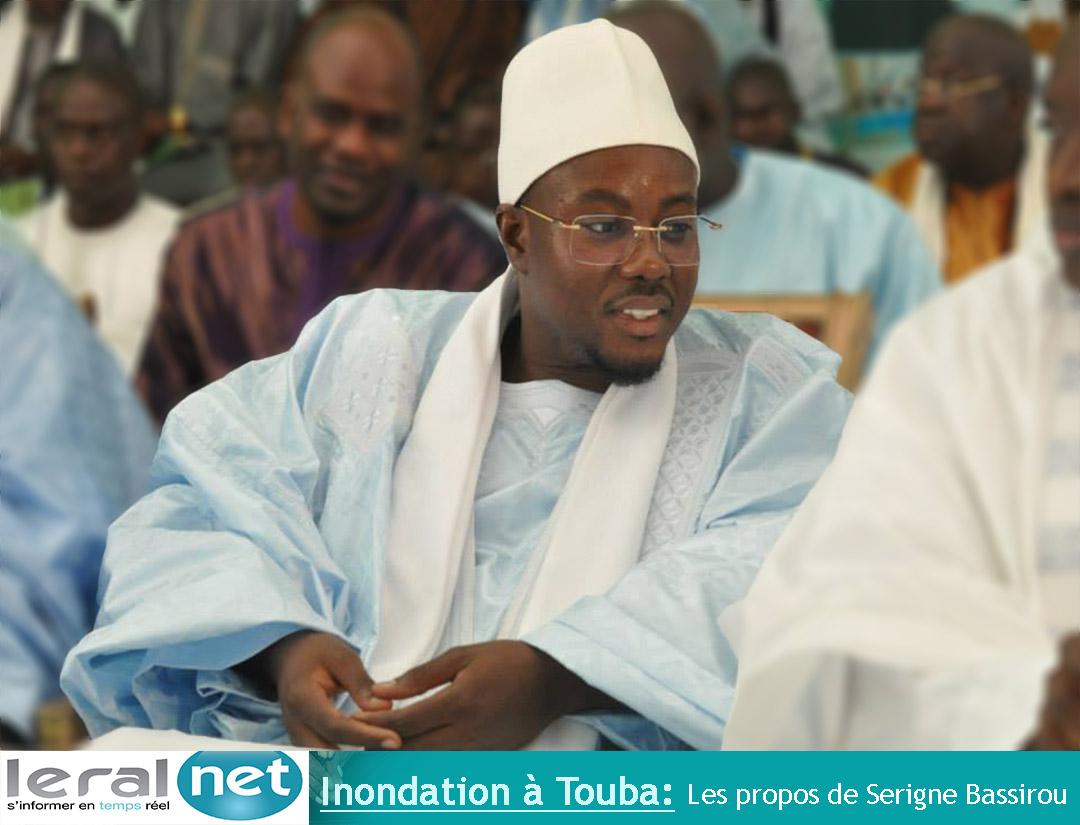 Inondations à Touba: Les sages paroles de Serigne Cheikh Bassirou Mbacké Abdou Khadre