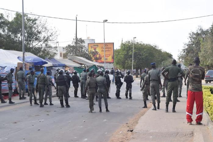 Grogne à Ziguinchor : Les flics réclament le paiement intégral de leurs primes journalières