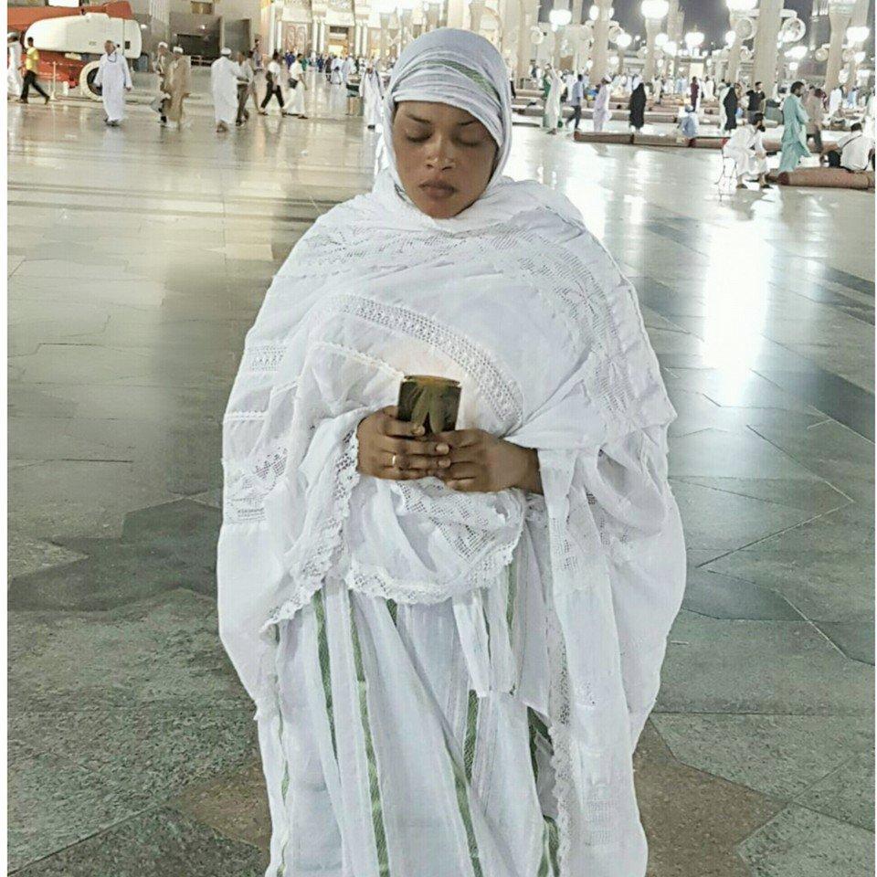 Photos: Boury Bathily,la femme de Balla Gaye 2 à la Mecque