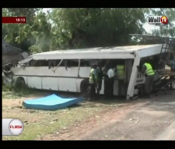 Axe Kaolack-Keur Ayib : Des « djinns » d'un arbre abattu seraient à l'origine de l'accident d'hier