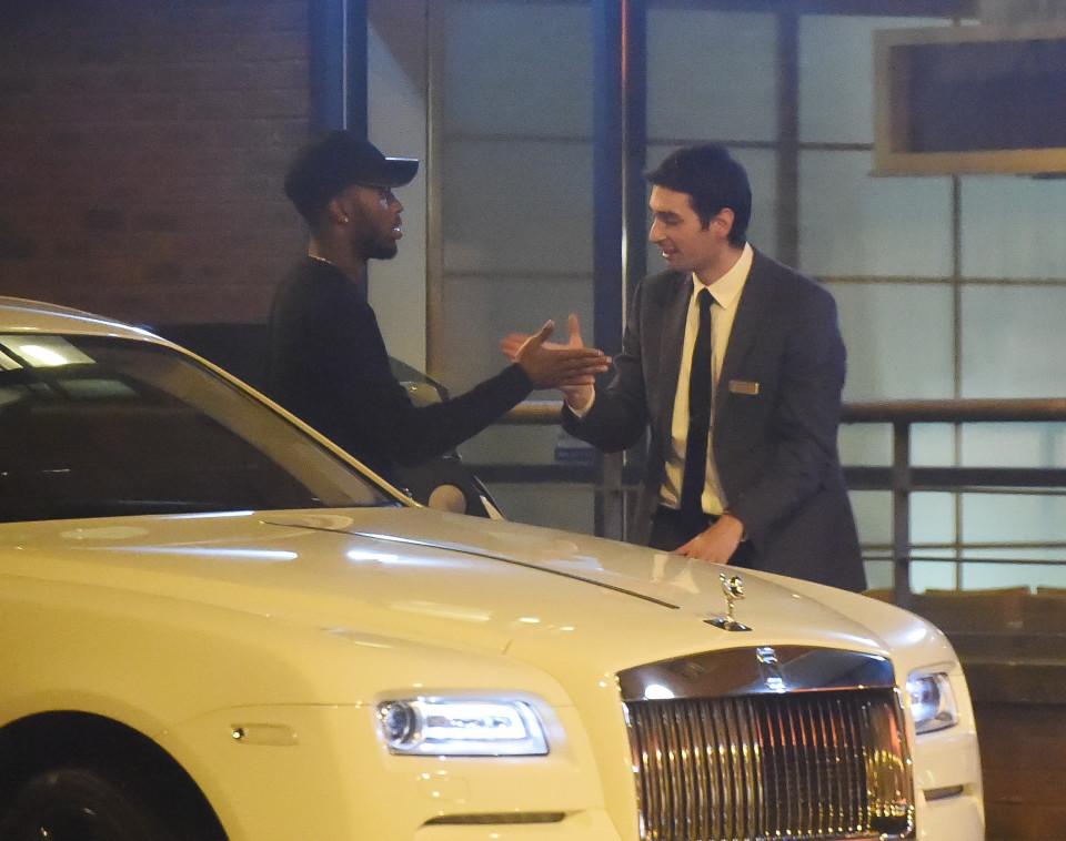 Photos: Contemplez la Rolls Royce de 178 millions FCFA du joueur de Liverpool, Daniel Sturridge