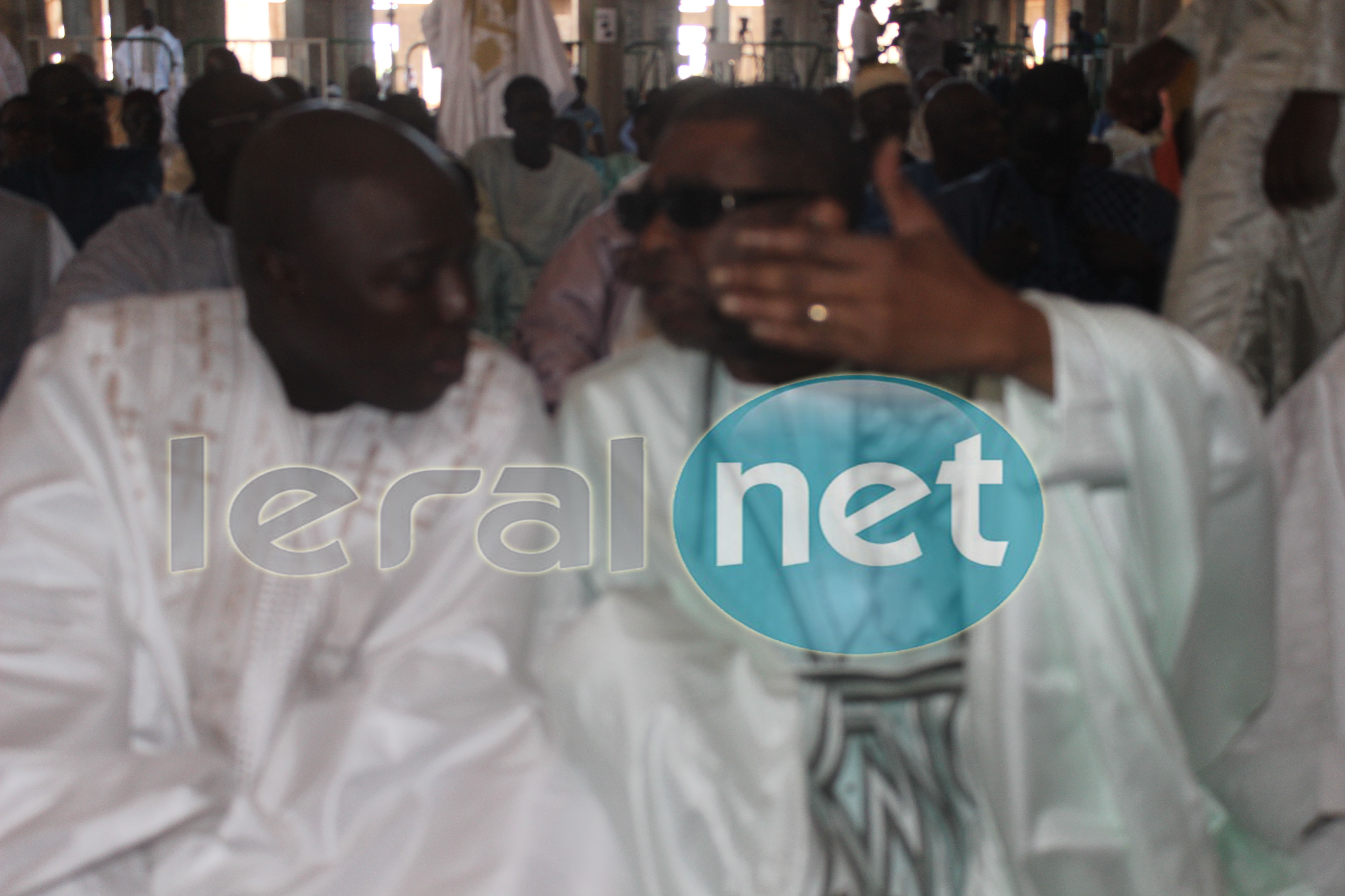 TABASKI : Youssou  Ndour et le ministre Arona Coumba Ndoffène Diouf au premier rang