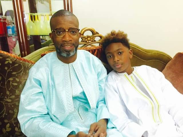 Photo : Philippe Ndour, le fils de Bouba et de Viviane a grandi