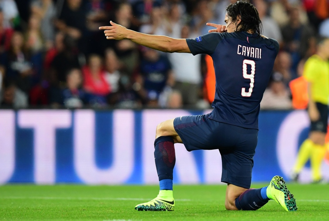 En 41 secondes, Cavani bat le propre record du but parisien le plus rapide