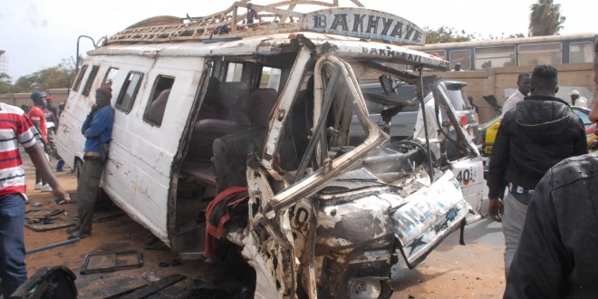 Bilan macabre des accidents sur les routes : Avec 91 victimes, Dakar remporte la palme de la Tabaski 2016