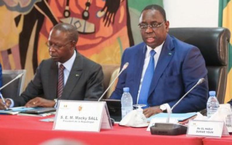 Macky Sall appelle à intensifier le déploiement dynamique de la stratégie nationale d'assainissement urbain