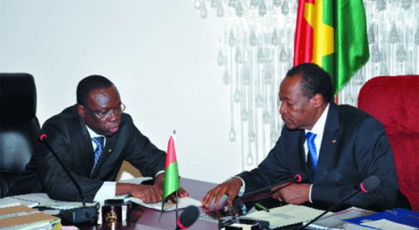 Burkina Faso: l'ex-Premier ministre de Blaise Compaoré, Luc Adolphe Tiao placé sous mandat de dépôt