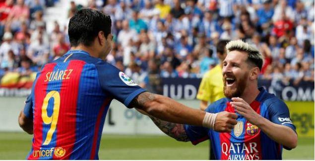 Le Barça s'impose à Leganés, Messi inscrit un doublé