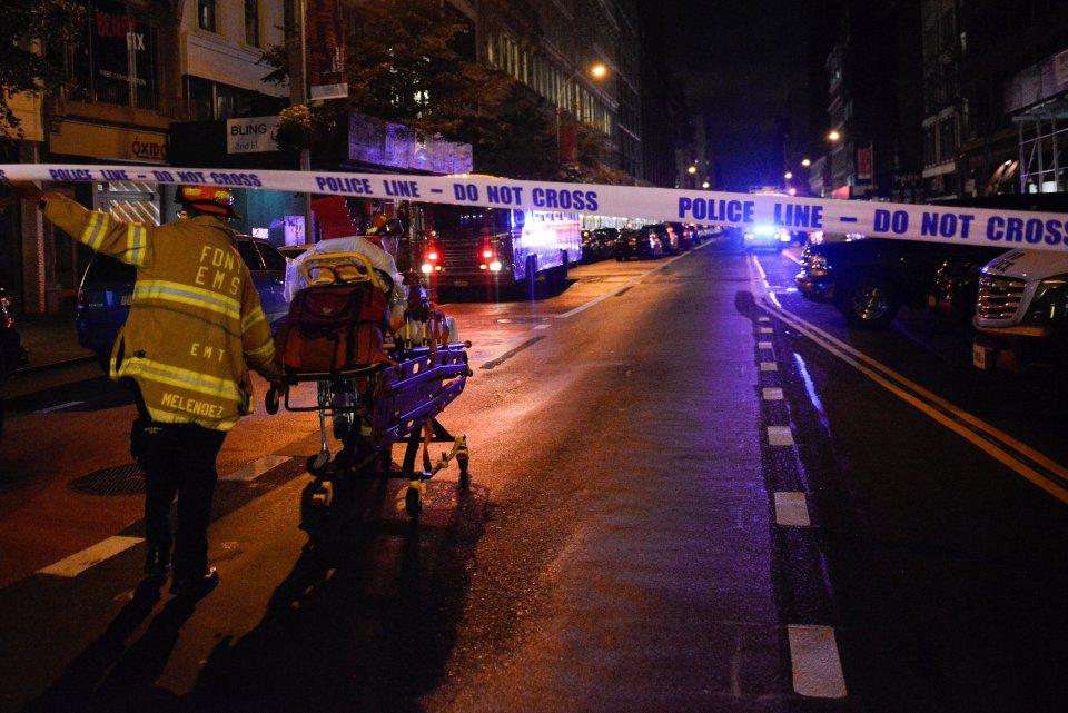 L'explosion à New York n'a «pas de lien avec le terrorisme international»
