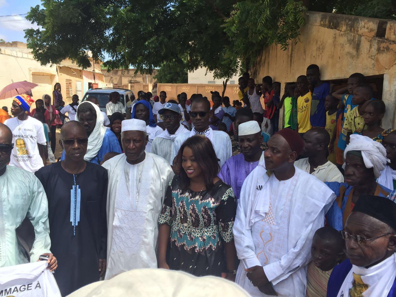 Lancement des 72 heures de Kanel parrainées par Mamadou Oumar Boucoum en présence de Amy Sarr Fall (Photos)