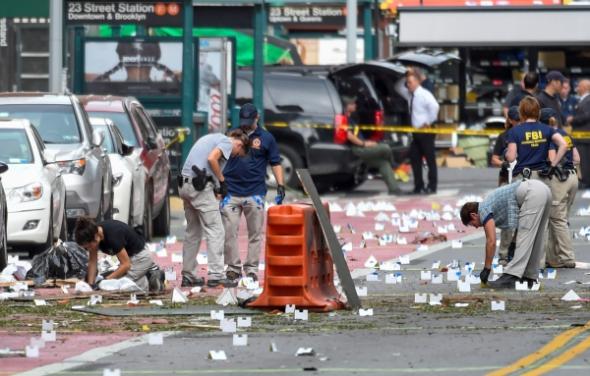 Cinq bombes artisanales explosent dans une gare du New Jersey