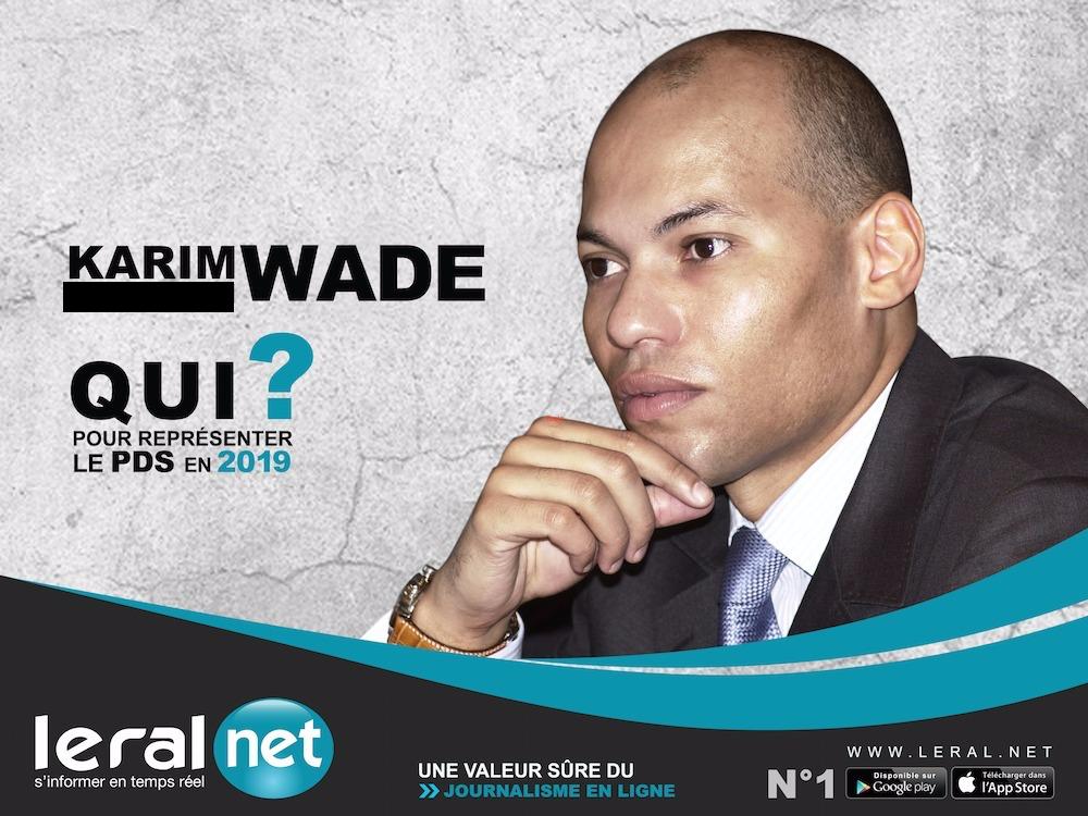 Décryptage Leral.net-Candidat «virtuel» du PDS à la Présidentielle 2019 : Karim Meissa Wade ou la politique «Bluetooth»