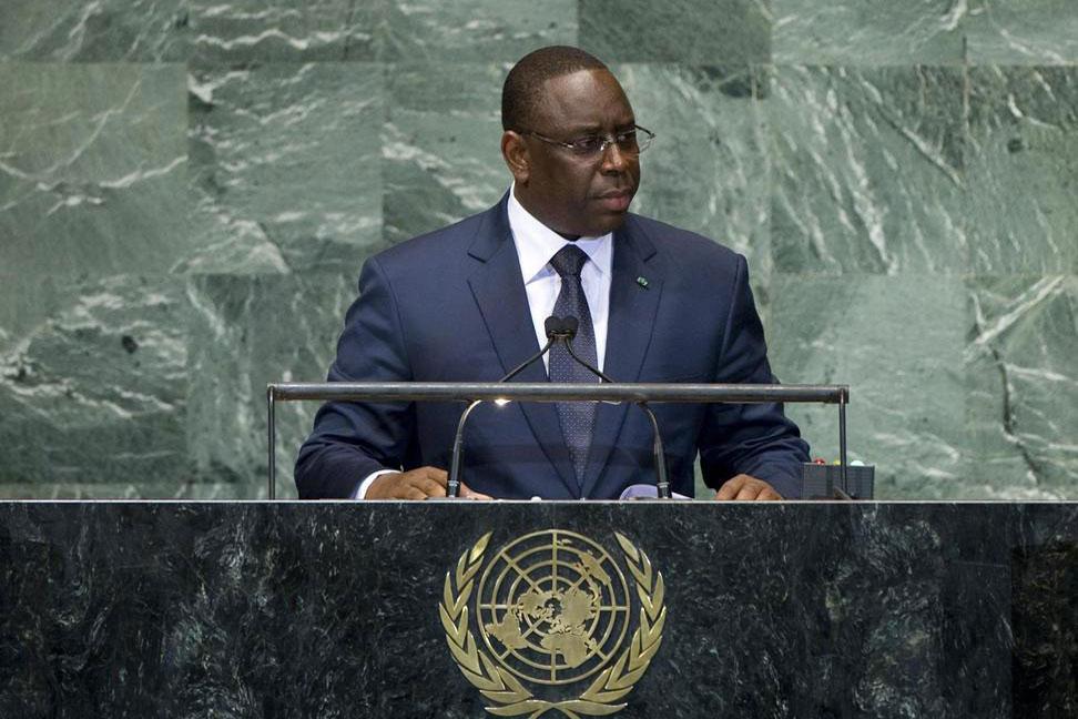 Macky Sall au Conseil de Sécurité des Nations Unies : «Le prix de la paix n'est jamais plus élevé que le coût de la guerre»