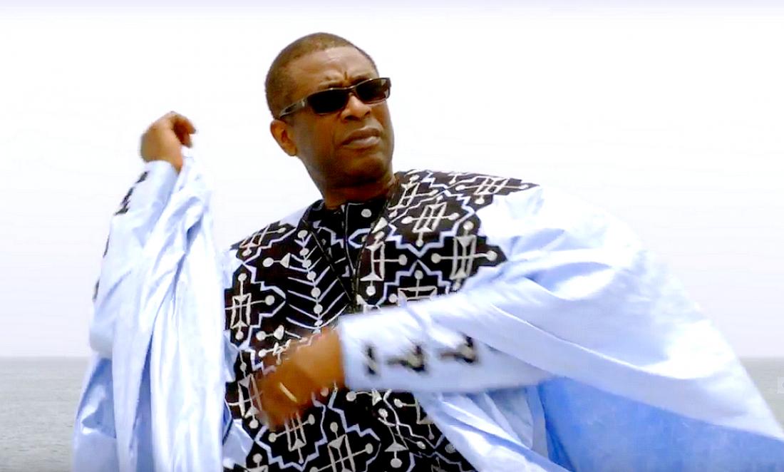 Youssou Ndour au concert de rentrée à Taratata chez Nagui