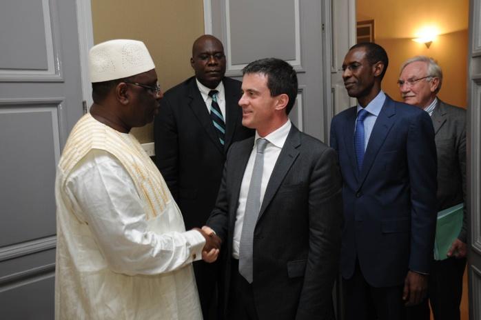 Audience Manuel Valls-Macky Sall : Développement, sécurité-terrorisme et coopération de défense au menu