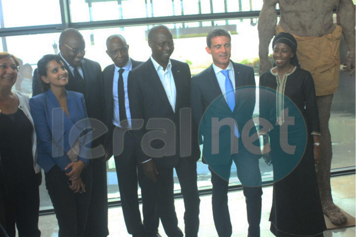 Photos la visite du premier ministre fran ais manuel for Ministre francais