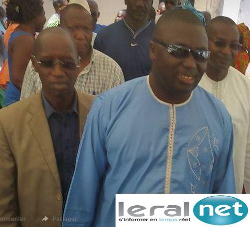 """Bamba Fall,maire de la Médina : 'Khalifa est le candidat du Peuple et le Parti Socialiste doit être un de ses souteneurs""""."""