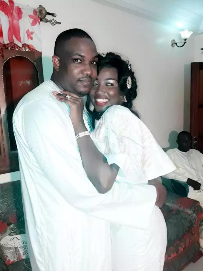 Les images du mariage de Aliou Sow transitaire et Bébé Ndiaye